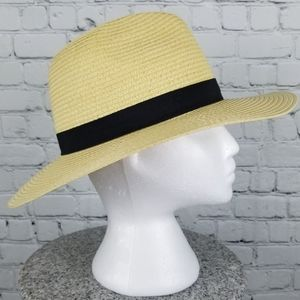 Woven paper light sun fedora/Panama hat